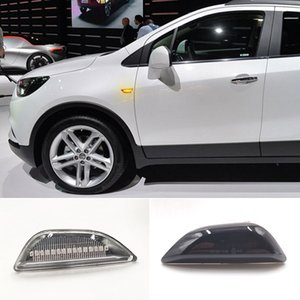 2x Dynamic Led Side Marker Flowing Turn Signal Sequential Blinker Lamp For Opel Mokka X Chevrolet Trax 2013-2020 Buick Encore