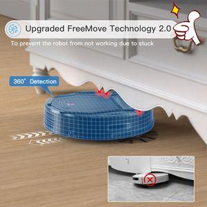 Hot Sells Lefant Robot Vacuum Cleaner Auto Robotic WiFi App Alexa Self-Charging Super Quiet Mini Cleaning Robot Sweeper M201