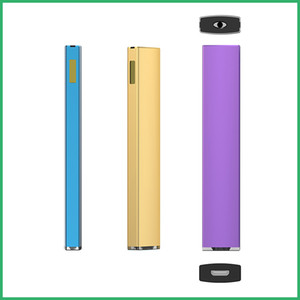 Rechargeable battery with charging port Bar Disposable pod pen for Thick Oil cartridges Vape Atomizer OEM custom brand logo Vape Pen