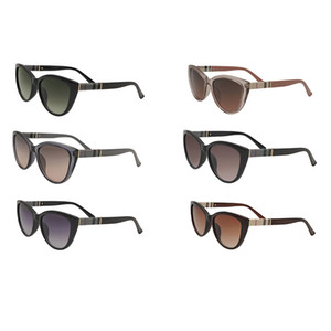 3747 Accessori moda Mens Moda Occhiali da sole Donna UV400 Full Full Frame Pink Occhiali rotondi Cat Eye Lussurys Designer Designer Occhiali da sole Regalo