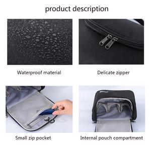 Cosmetic Bag Waterproof Make Up Tools Travel Organizer Pouch Women Wash Toiletry Vanity Makeup Case Storage Toiletry Ba