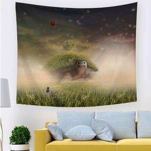 بالون الهواء الساخن شنقا القماش غرفة حية غرفة تأجير غرفة الديكور جدار القماش عنبر نوم السرير نسيج tapestry dhl