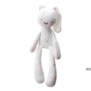 Bunny Plush Toys Easter Rabbit Dolls Cute Rabbit Stuffed Toy Long Ears Bunny Toys Bed Pillow Toy Kids Baby Birthday Gift SEA EWC6150