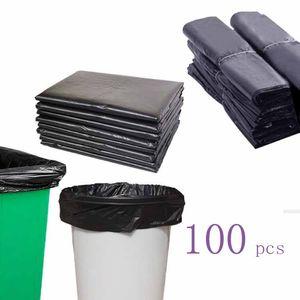 (596A13) Spesso usata non perdite sacchetti di plastica BACK BACK BACCHETTI AMBIENTE PULITO AMBIENTE BAGNE X100