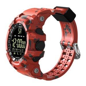 Ex16 mais desporto relógio inteligente atividade impermeável rastreador relogio inteligente pulseira bluetooth pedômetro smart wristwatch para android iphone