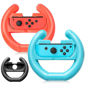 Handle Steering Wheel for Nintendo Switch Controller Joy Con Racing Wheel Handle for Mario Kart with retail package