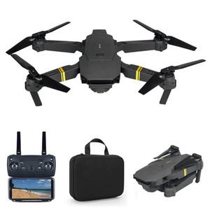 Cada uno E58 WiFi FPV con HD de ancho HD 1080p / 720p / 480p Modo High Hold Mode Brazo plegable RC Quadcopter Drone X Pro RTF DRON