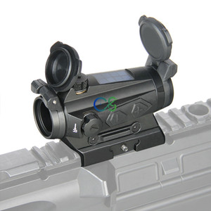 PPT 1x20mm Sight Red Dot Sight 2MoA Solar Energy Sight per la caccia sparatoria Spedizione gratuita CL2-0126