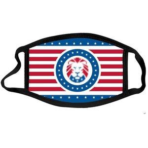 Trump 2024 Masque d'élection Président Biden Tissu Visage Masques Trump Coton Dust Speams Mask 5 Styles DWD5188