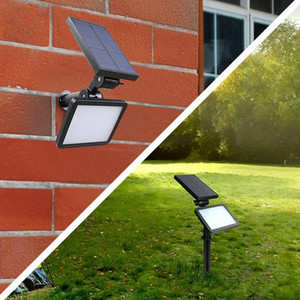 New Landscape Light 48LEDs Super Bright Solar Spotlight Garden Courtyard Outdoor Adjustable LED Solar Lawn Light
