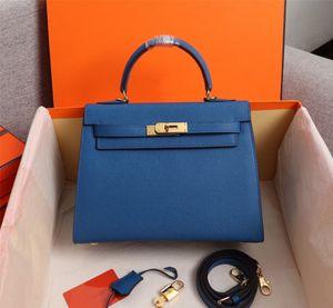 Espom Designer Fashion Bags 25cm 28cm Women Totes Genuine leather Shoulder Bag lady Handbag High Quality Real photos
