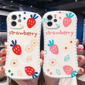 Phone Cases for iPhone 6 7 8 6s plus 12 11 XR XS Pro maxSilicone Cartoon Pattern Small-waist Protective Anti-dirt Anti-shock Back Cover