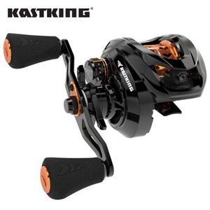 Kastking Zephyr Bait Finesse System Baitcasting Carrete de pesca 4.5kg 7 rodamientos de bolas 7.2: 1 Relación engranaje Rueda de pesca de fibra de carbono
