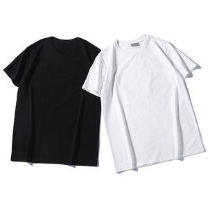 Summer Mens T shirt T-shirt T-shirt Casual Mens pour femmes T-shirt lâche avec chemise à manches courtes imprimée par lettre