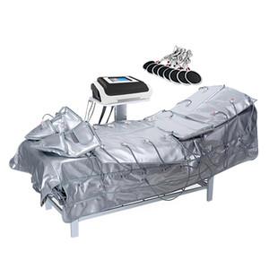 Mejor Presotherapia Adelgazamiento Desviador Infrarrojo Sauna EMS Estimulación muscular eléctrica Linfo Drenaje Máquina Máquina Máquina Masaje Equipo de Masaje