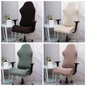 1 Set Gaming Chair Cover Stretch Spandex Office Chair Covers Elastic Armchair Seat Cover for Computer Desk Game Chairs Seat Case
