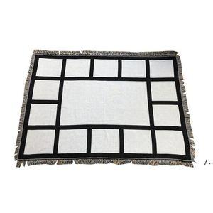 Panel de sublimación Manta blanca Mantas en blanco para la alfombra de sublimación Mantas cuadradas para sublimación de la alfombra de transferencia Theramal Rug BWF5503