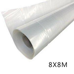 Plansers Pots 4 года 6 мил Прозрачный пластиковый теплиц поли пленочной пленкой Polytunnel House Cover прочность, устойчивость к атмосферу и слеза