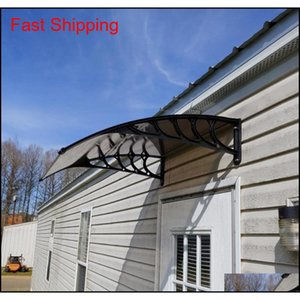 100x100cm Praktische Regenabdeckung Eauves DIY-Fenster-PC-Markise Sun Shade Canopy Polycabonat Haushaltsantrag d QYLYOE Toys2010