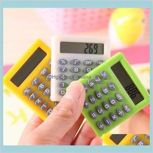 Cute Mini Student Exam Learning Essential Small Calculator Portable Color Multifunctional Small Square 8 Digit Calculator P0Aoi Eklpj