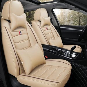 Universal Fit Car Interior Accessories Seat Covers For Sedan PU Leather Adjuatable Five Seats Full Surround Design Seat Cover For SUV N001