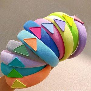 Luxury Designer Sponge Headbands Hair bands For Women Girl Brand Elastic Letter P Headband Sports Fitness Head Wrap