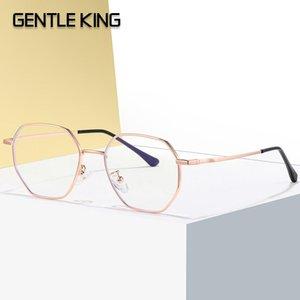 Gentile King Block Blue Light Glasses Women's Anti-Blue Light Light Glasses Occhiali da donna Elegante Anti Blu Black