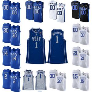 Гербские голубые дьяволы колледж баскетбол трикотажные изделия Cam 2 Reddish Jersey Kyrie 1 Irving Brennan Besser Austin 0 реки VERNON 1 CARCY CHASTY SHISTE