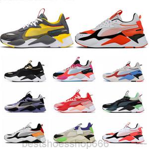 Rahat Ayakkabılar RS-X Fuşya Mor Kırmızı Blast Parlak Şeftali RS X Kadın Erkek Chaussures Zapatos Transformers Trophy Mens Trainer Spor KRTD