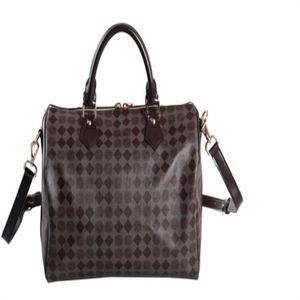 Handbag Factory 2021 Brand Quality Genuine Speedy Leather Fashion Price Women Oxidize Totes Bandouliere High Strap With Shoulder Bag 40 Kvoi