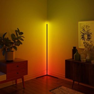 Floor Lamps Modern LED Lamp RGB Light Colorful Bedroom Dining Room Atmosphere Lighting Club Home Indoor Decor Standing Mod