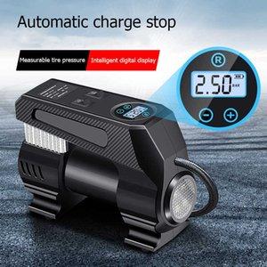 Bicycle Pump For Car Air Compressor Portable Car Tire Inflator Air Injector Electr Air Pump For Bicycle Tyre Compressor Portable