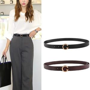 Hot Design Belt Trendy Luxury Genuine Leather Good Quality Waist Belts for Jeans Casual Men Women G Cowhide Girdle