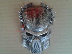 Yeni Gümüş Cosplay Kalite Kostüm Topu Yabancılar VS Predator AVPR Maskesi Cadılar Bayramı Dans Doğum Günü Partisi Masquerade --- Sevgiler