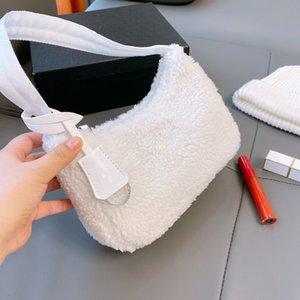 Top Borse a spalla singola Struttura da donna Struttura sobbalzo Lascente Designer Handbag Peluche di alta qualità 5 colori WF2012021
