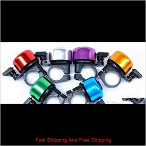 Bicycle Bell Aluminum Alloy Mountain Bike Bells For Adults Loud Crisp Clear Sound Cycling Bicycle Horn qylHiF home2006