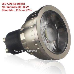 Bulbs 1pcs Dimmable GU10 COB 9W 12W 15W LED Bulb AC110V 220V Spotlight Warm Pure Cool White Lighting