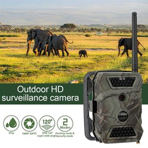 1080P HD Hunting Camera Night Vision 12MP LCD Chasse Caccia Trail Camera With MMS GPRS SMTP FTP GSM Trail Hunt Game Wild