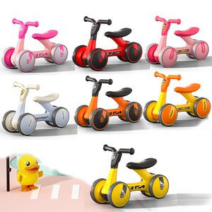 Baby Walkers Smooth duck Balance Walker Glide Toy Learning Walk Outdoor Cycling sports Boys Girls Toddler No Foot Pedal Riding Christmas Gift
