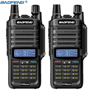 2Pcs Baofeng UV-9R Plus IP68 Waterproof walkie talkie VHF UHF 10W powerful Portable 10km Long Range UV9R Ham Radio