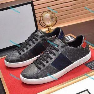 Gucci shoes LUXE Yeni Klasik Siyah Kırmızı Alt Erkek Bayan Tasarımcı Ayakkabı Düşük En İyi Rahat Düz Açık Zapatillas Sürüş Sneakers Sonsuza Da 35-46