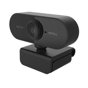 Full HD 1080P Webcam USB Mini Computer Camera Built-in Microphone, Flexible Rotatable , for Laptops, Desktop and Gaming