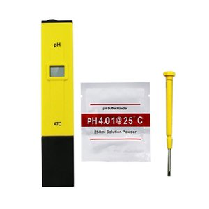 New Digital PH Meter PH Tester 0.01 Accuracy Water Quality Tester with ATC for Household Drinking Water Swimming Pools Aquari