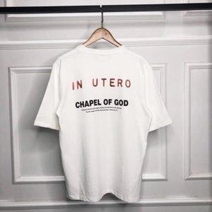 Angel Nebel Vintage Kanye T-shirtEehr mit kanierter Vintage Kanye Time New Nirvava Casual Kurzärztliche Uptja