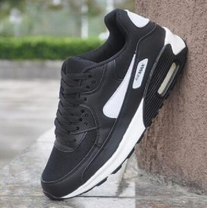 Classic 90 Shoes Mens Woman Outdoor Vulcanize Shoes Black White Sport Shock Jogging Walking Hiking Sports Athletic Sneakers Shoes