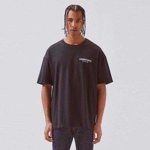 FFOG футболка страх от бог Essentials Boxy Photo Футболка негабаритные футболки Tee женщины высокого качества хлопчатобумажная футболка hfbytx285