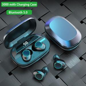 G16 TWS Bluetooth Наушники Heavy Basas 6D Стерео HiFi Звук Светодиодный дисплей Headsets 3000 мАч Зарядная коробка IPX7 Водонепроницаемый