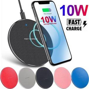 10W FAST Schnelles Ladegerät Wireless Ladegerät PAD USB QI Ladekissen für iPhone 8 11 12 PRO MAX SAMSUNG S10 S20 Note 20 HTC Android Phone