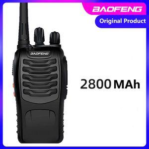 Baofeng Walkie talkie walkie-talkie BF-888S outdoor radio handheld high-power hotel 2800mAh 470MHz 5km