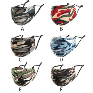 Camouflage Pure Cotton Full Face Mask Bicycle Outdoor Hat For Men And Women Masks Free Shipping